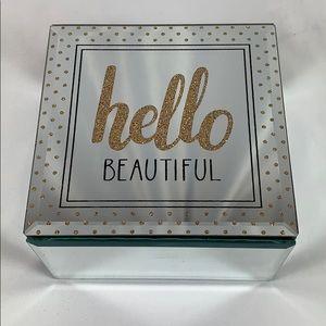 "Accessories - ""Hello Beautiful"" Jewelry Box"